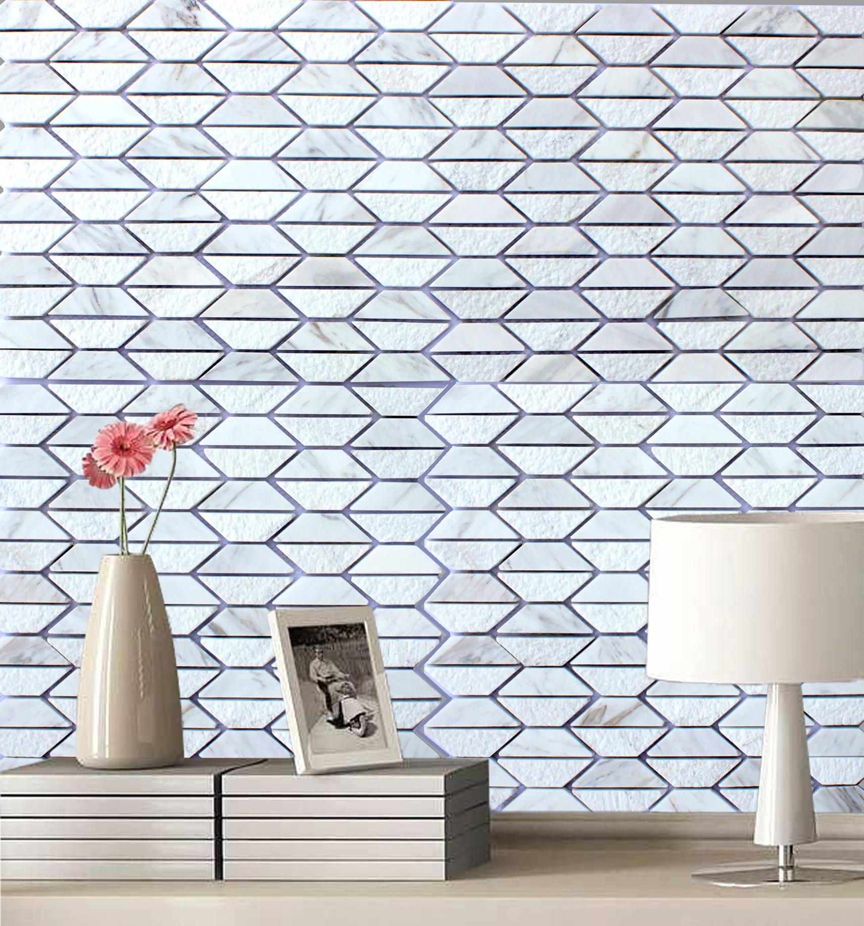 Fergus Lime Stone Marble Mosaic Tile -684 | Decor Papa: Mosaic Tiles ...